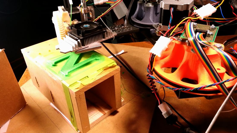 evezor robotic arm 3d printing